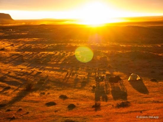 Sunrise, Patagonia